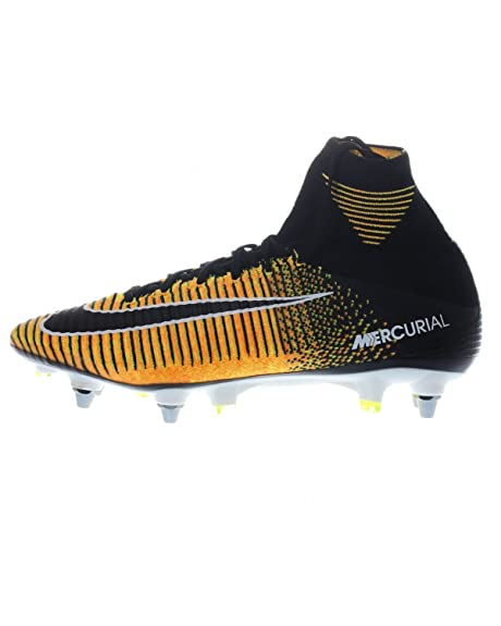 Nike Mercurial Superfly V SG de Pro Negro, Laser Orange/Black-White-Volt: Amazon.es: Deportes y aire libre