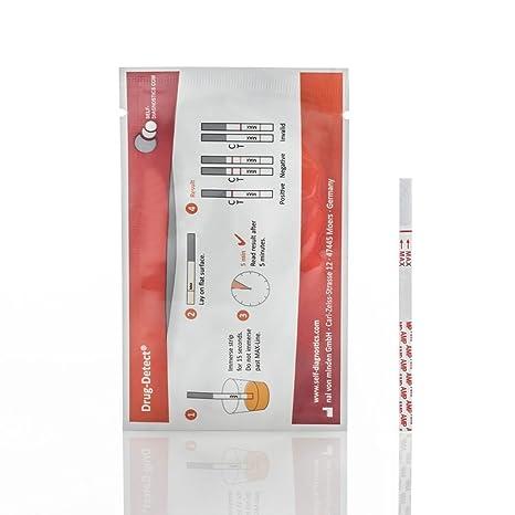 Test para la detección de drogas Cotinina - 10 tiras