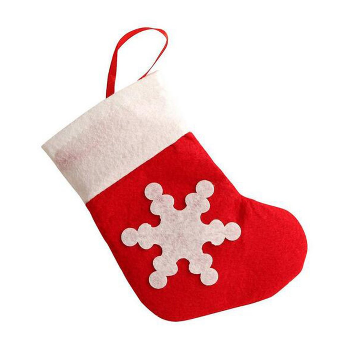 amazoncom 12pcs mini cute christmas stocking dinnerware cover xmas knife and fork bags decorations home kitchen - Christmas Socks Decoration