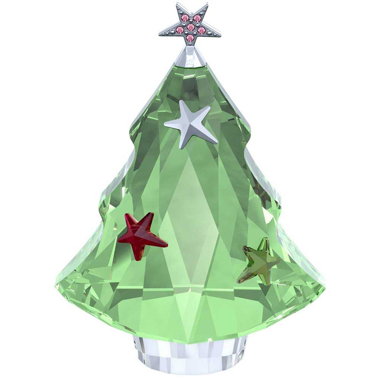 Swarovski Christmas Tree, Chrysolite
