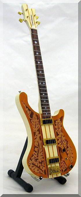 LEMMY KILMISTER Miniature Bass Guitarra Motorhead