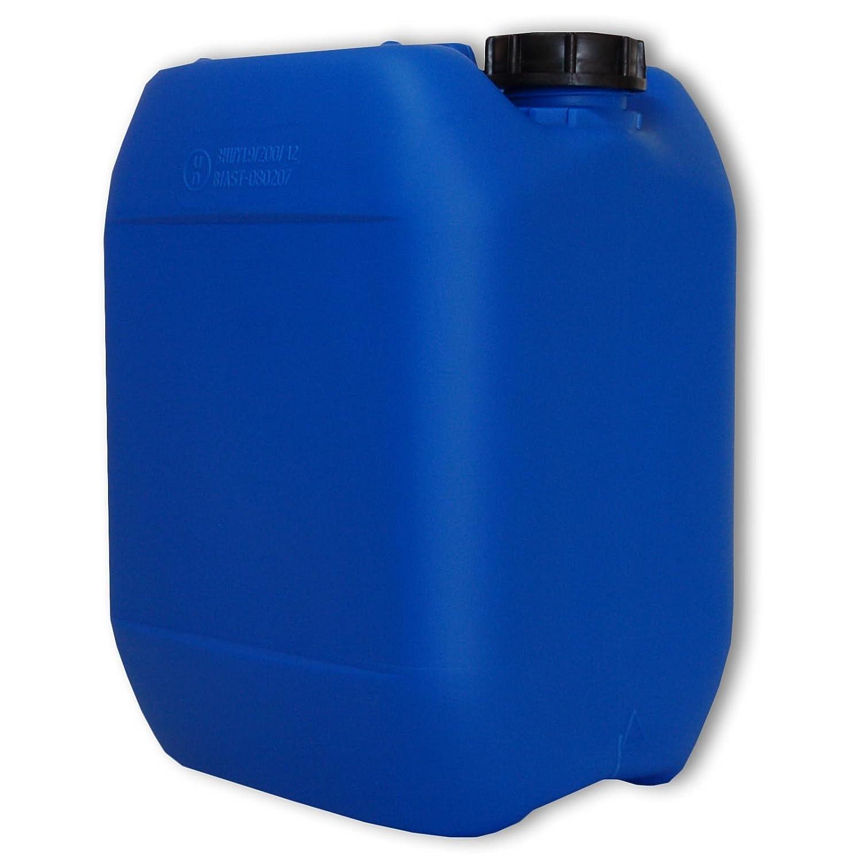 Wasserkanister Kanister 10 Liter aus PE Natur mit Deckel
