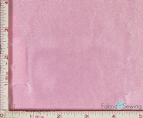 Dazzle Cloth Uniform - Pink Tricot Dazzle Mesh Fabric Polyester 7 Oz 58-60