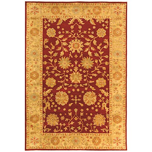 Heritage Collection Oval Rug - Safavieh Heritage Collection HG813A Handcrafted Traditional Oriental Red and Gold Wool Area Rug (5' x 8')
