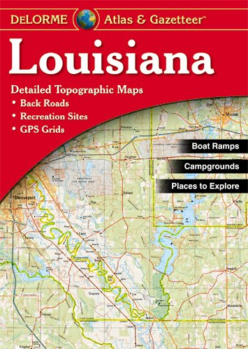 Louisiana Atlas & Gazetteer Delorme null Garmin AA-001483-000