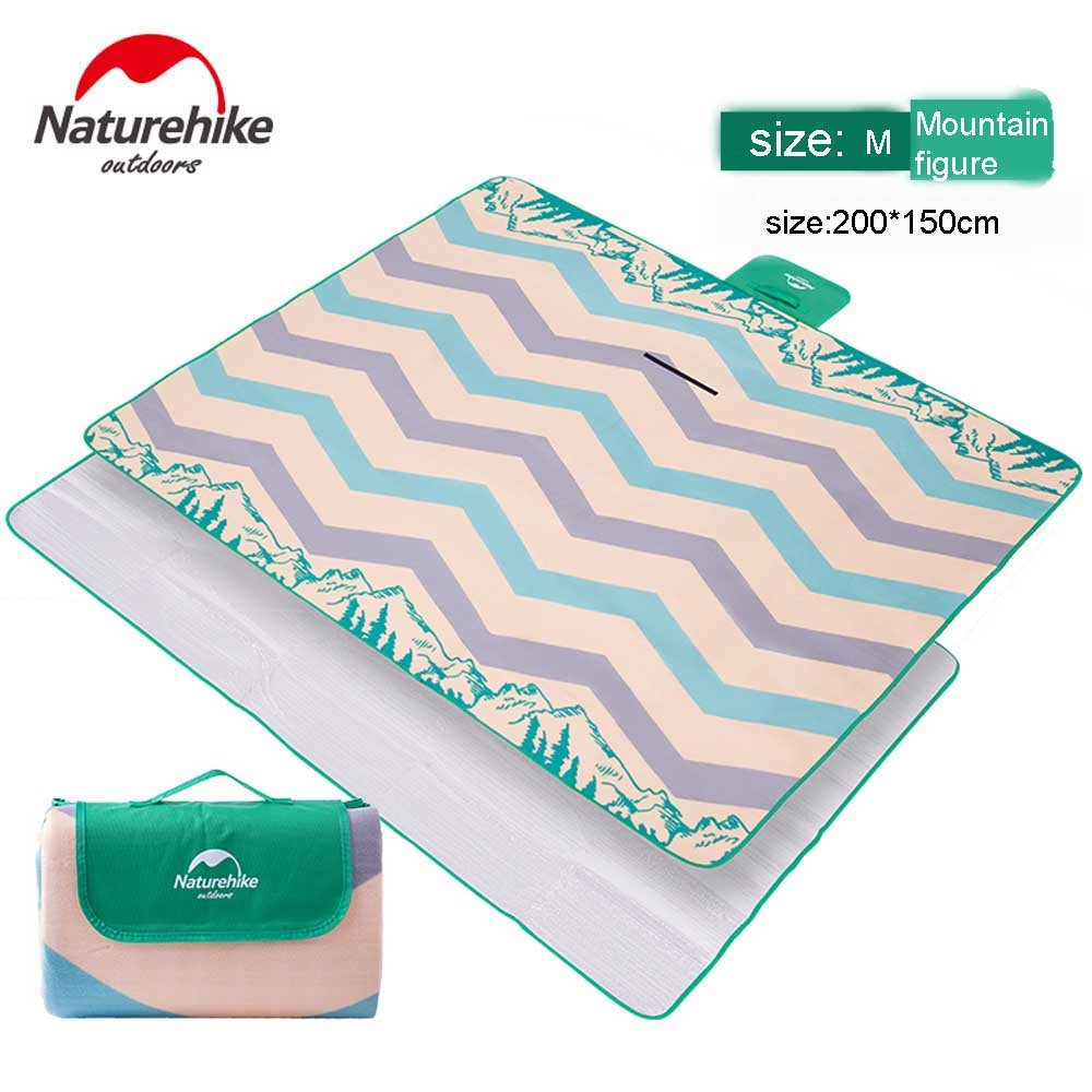 Naturehike Camping Mat,Yoga Mat,Rug Mat,Multifunctional Mat,Family Picnic Blanket Folding with Tote,Foldable Waterproof Ultralight Large Size Plus Thick 80 x 60 by Naturehike