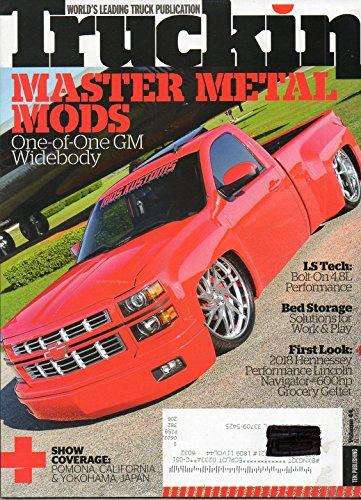 FIRST LOOK: 2018 HENNESSEY PERFORMANCE LINCOLN NAVIGATOR 600hp Show Coverae: Pomona, California & Yokohama, Japan LS TECH: BOLT-ON 4.8L PERFORMANCE Truckin 44 9 2018 Magazine BED STORAGE -