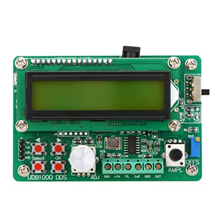 KKmoon Multi-functional DDS Function Signal Generator Source Module 60MHz  Frequency Counter