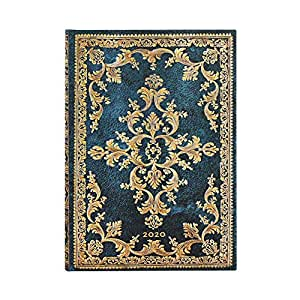 Amazon.com: Paperblanks 12 Month Calendar 2020 Metauro Verso ...