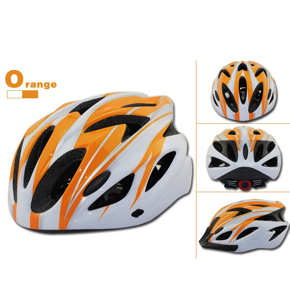 Ultralight Integrally-molded Cycling Helmet with Visor Mountain Road Bike Bicycle Helmets Cascos Para Bicicleta : Sports & Outdoors