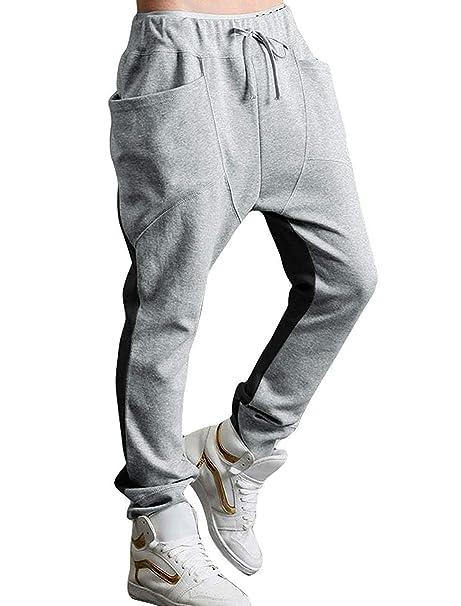 Yingsssq Pantalones de chándal Pantalones Largos para Hombres ...