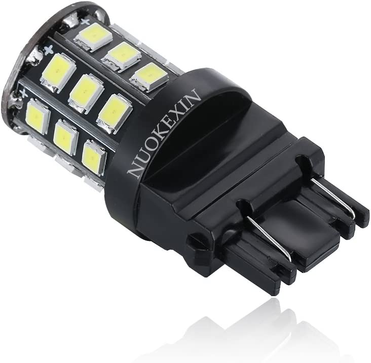 Nuokexin 2 X 800 Lumens Super Bright 2835 33 SMD 3056 3156 3057 3157 33-SMD LED Bulbs,Back Up Reverse Lights,Brake Lights,Tail Lights White