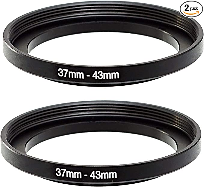 Sensei 62mm Lens to 82mm Filter Step-Up Ring 4 Pack