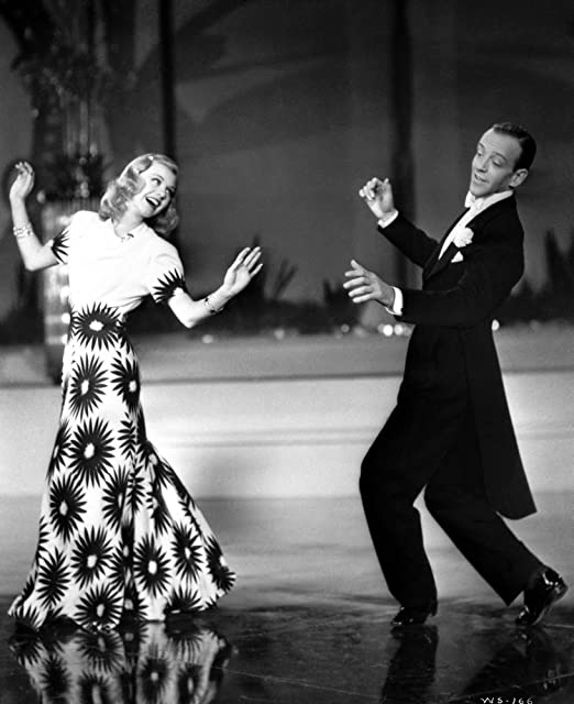 Amazon Com Fred Astaire And Ginger Rogers Dancing On Stage Photo Print 24 X 30 Home Kitchen