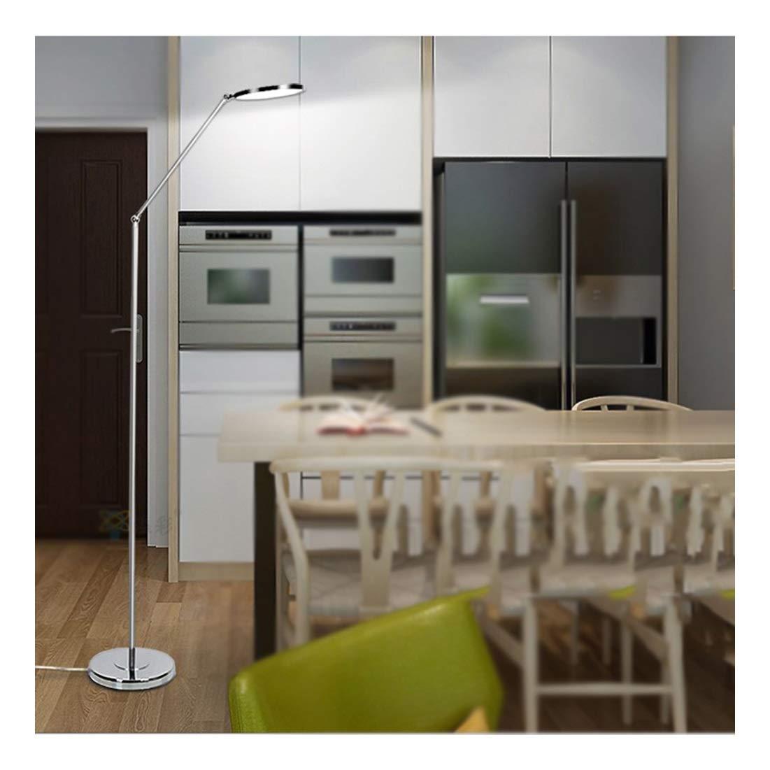 【送料無料】 NKDK 床ランプ - - 寝室のレイアウト床ランプの目の保護はリビングルームの寝室ランプ研究読書クリエイティブ -153 フロアランプ (サイズ white 無段階調光) さいず : 無段階調光) B07QD9S5KT Single white Single white, サイバーレップス:14f1cf1a --- wattsimages.com