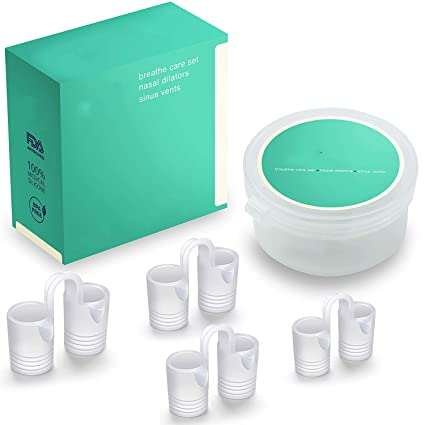 BetterAngel Dilatador Clip Nasal Antironquidos Y Apnea Correa Solutions, Ferula Antironquidos Mejorar RespiracióN Nasal Dormir