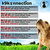 K9KONNECTION-Dog-Training-Collar-with-Remote-100-Waterproof-Rechargeable-with-4-Modes-Vibration-Shock-Light-Pet-Safe-Beep-Fits-Small-Medium-or-Large-Dogs-Best-for-1-or-2-Dogs