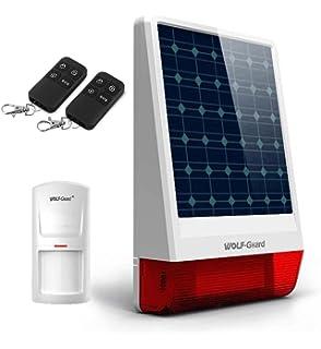 Alarma SIN cuotas SOLAR y GSM/SMS (con tarjeta SIM ...