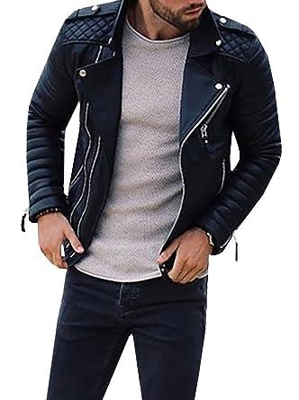 leather Men s jacket stylish