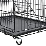 Yaheetech-Folding-Cat-Cage-Dog-Crate