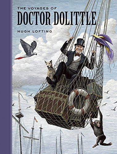 Book cover for The Voyages of Doctor Dolittle