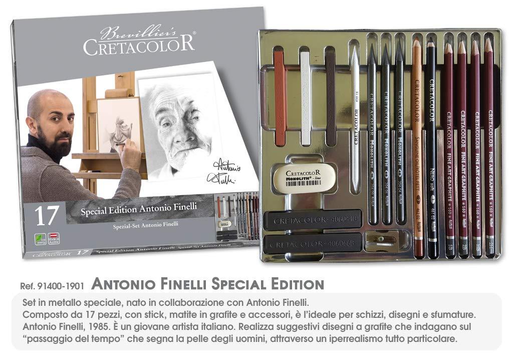 Cretacolor Set per Disegno Antonio Finelli Special Edition