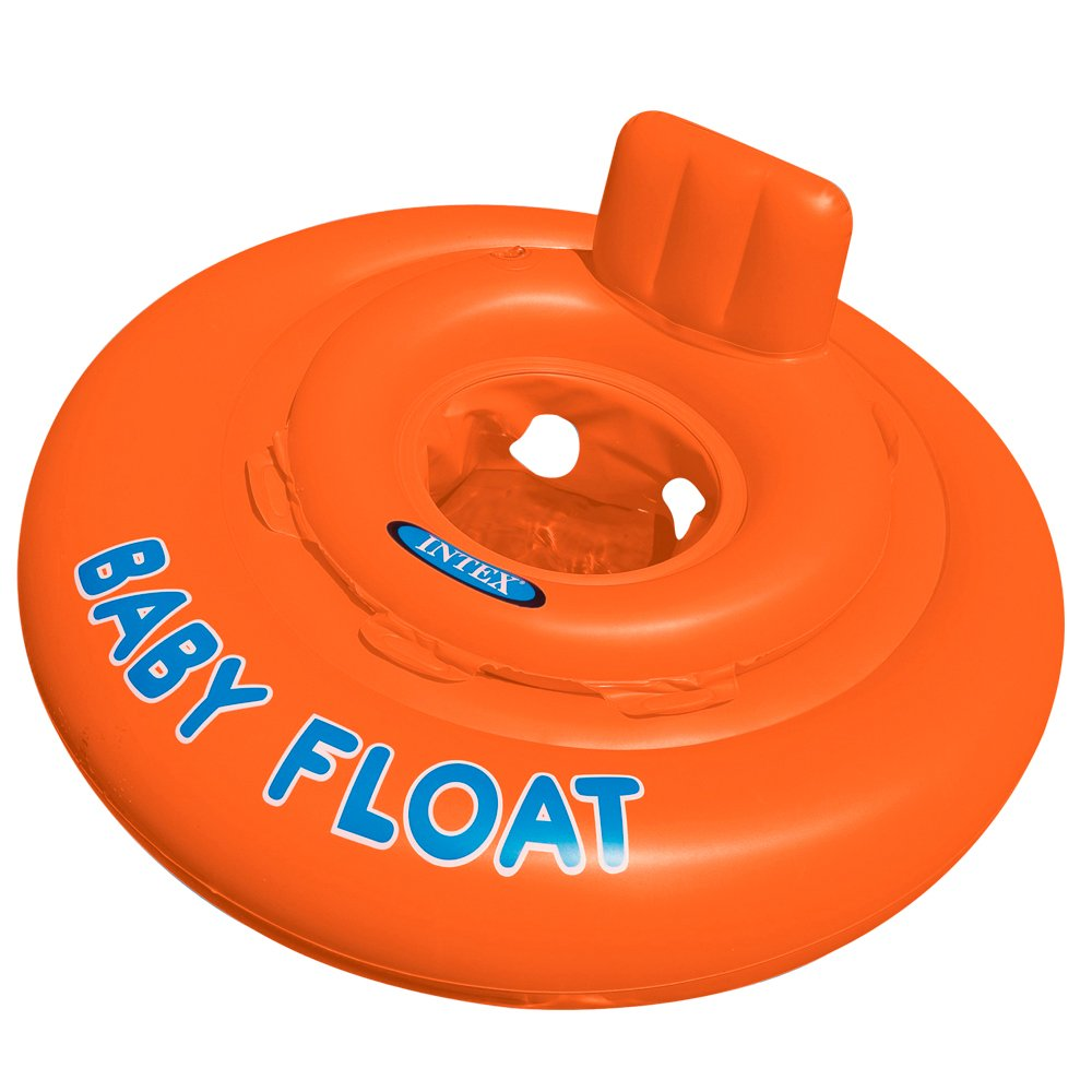 Intex Schwimmhilfe Baby Float Sitzring, Orange, Ø 76 cm Ø 76 cm 56588EP B004H3XB84