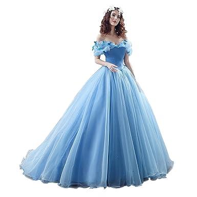 ZYLLGF Ball Gown Off Shoulder Cinderella Wedding Dresses Bridal Gown ...