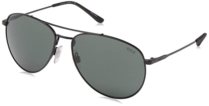 Ralph Lauren POLO 0PH3111 Gafas de sol, Demi Shiny Black, 59 ...
