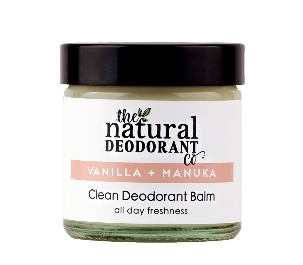 Clean Deodorant Balm Vanilla + Manuka by The Natural Deodorant Co. 60ml CDB006