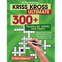 Kriss Kross Ultimate: 300+ Puzzles for Adults and Teens. Discover a new experience with three difficulty Levels: Easy…