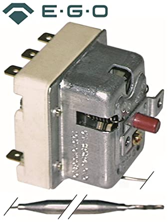 Seguridad Termostato EGO Tipo 55.32529.801 para lavavajillas, banda de lavavajillas, tapas de