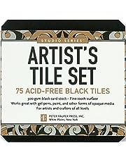 Studio Series Artist's Tiles: Black