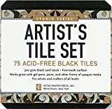 Studio Series Artist's Tiles: Black (75 pack)