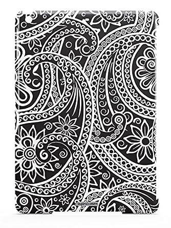 Amazoncom Inspired Cases 3d Textured Black White Swirl Pattern