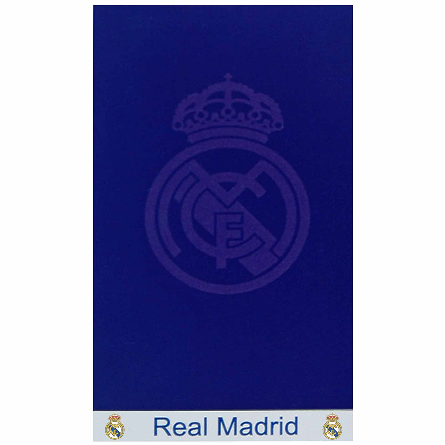 Real Madrid Giant Crest Badetuch TOWEL229 NVY