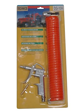 AERZETIX: Kit de accesorios para compresor de aire pistola de aire comprimido, manguera espiral