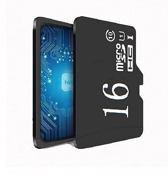 Tarjeta Micro SD de 16 GB, Clase 10 U1 Tarjeta de Memoria ...