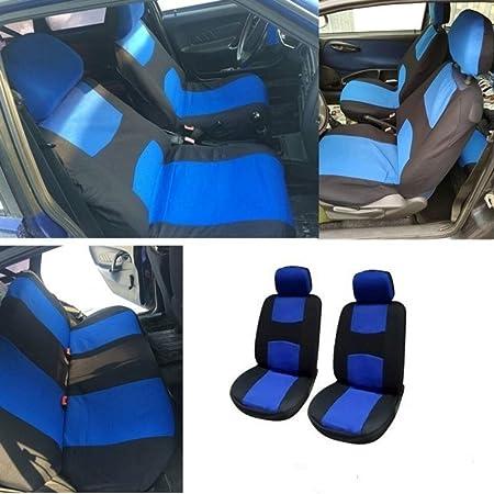 Coprisedili Auto Anteriore Universali Csatai Coprisedili Auto Universale Anteriori Copri-Sedile Accessori Auto Interno Set Copri-Sedile Universale con Airbag Laterali