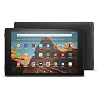 "All-New Fire HD 10 Tablet (10.1"" 1080p full HD display, 32 GB) – Black - without Special Offers"