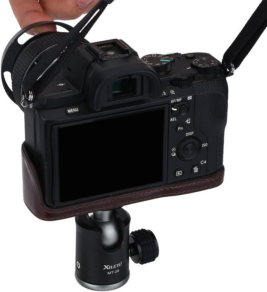 Aluminum Alloy Camera Tripod Ball Head 360 Degree Rotating Swivel Mini Ball Head Ballhead with 1//4 Screw Mount Stand for Camera Camcorder