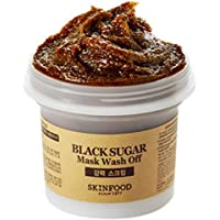 Skin Food - Black Sugar - Masque au sucre noir - Peeling Visage - Pore Cleanser - Masque Visage - Masque Purifiant Pores – Faciale