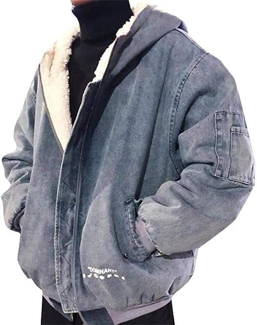 [エージョン]デニムジャケット フード付き 厚手 ジャケット 裏起毛 アウター ショート Gジャン カジュアル 保温 防寒着 ファッション 秋 冬