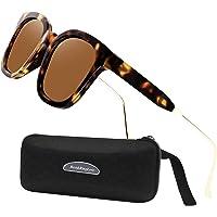 Perfectmiaoxuan Pack de 3 Gafas de Sol Hombre Mujer Polarizadas CAT 3 CE UV400 Gafas retro clásicas Conducción Correr…