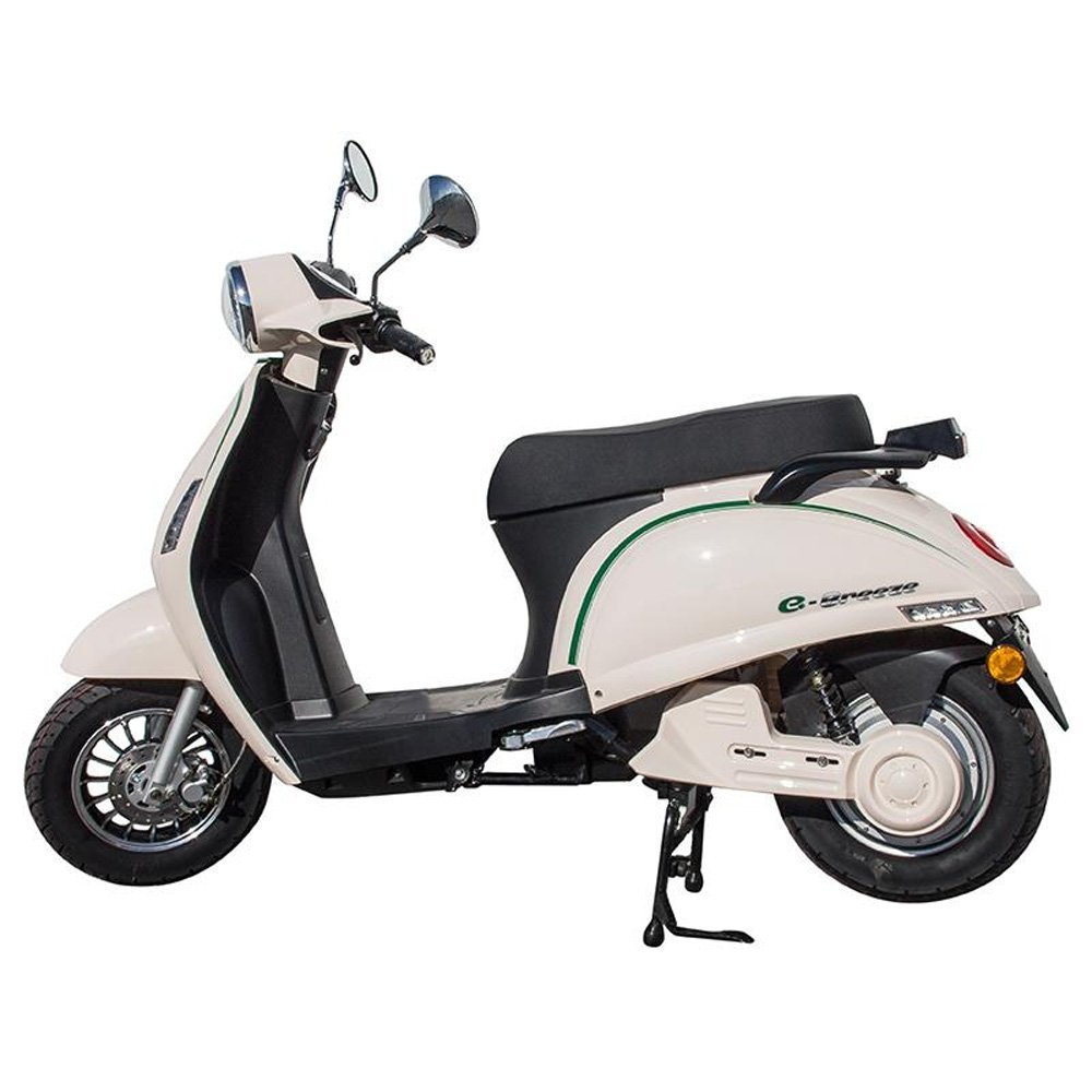eBreeze Scooter Elé ctrica de Kenrod en colores Negro-Verde-Blanco ebreeze-1