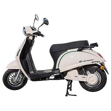 eBreeze Scooter Eléctrica de Kenrod en colores Negro-Verde-Blanco