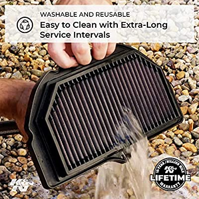 K&N SU-4007 Suzuki High Performance Replacement Air Filter: Automotive