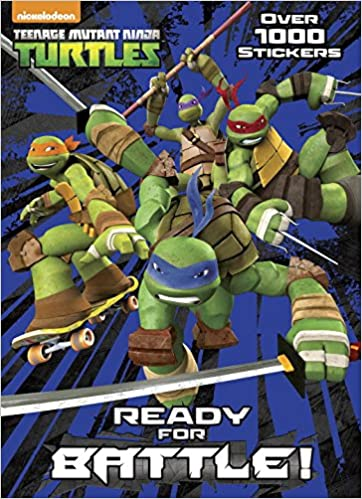Ready for Battle! (Teenage Mutant Ninja Turtles): Amazon.es ...