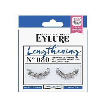 7fb97d5e828 Eylure Strip Lashes No.080 (Lengthening): Amazon.co.uk: Beauty