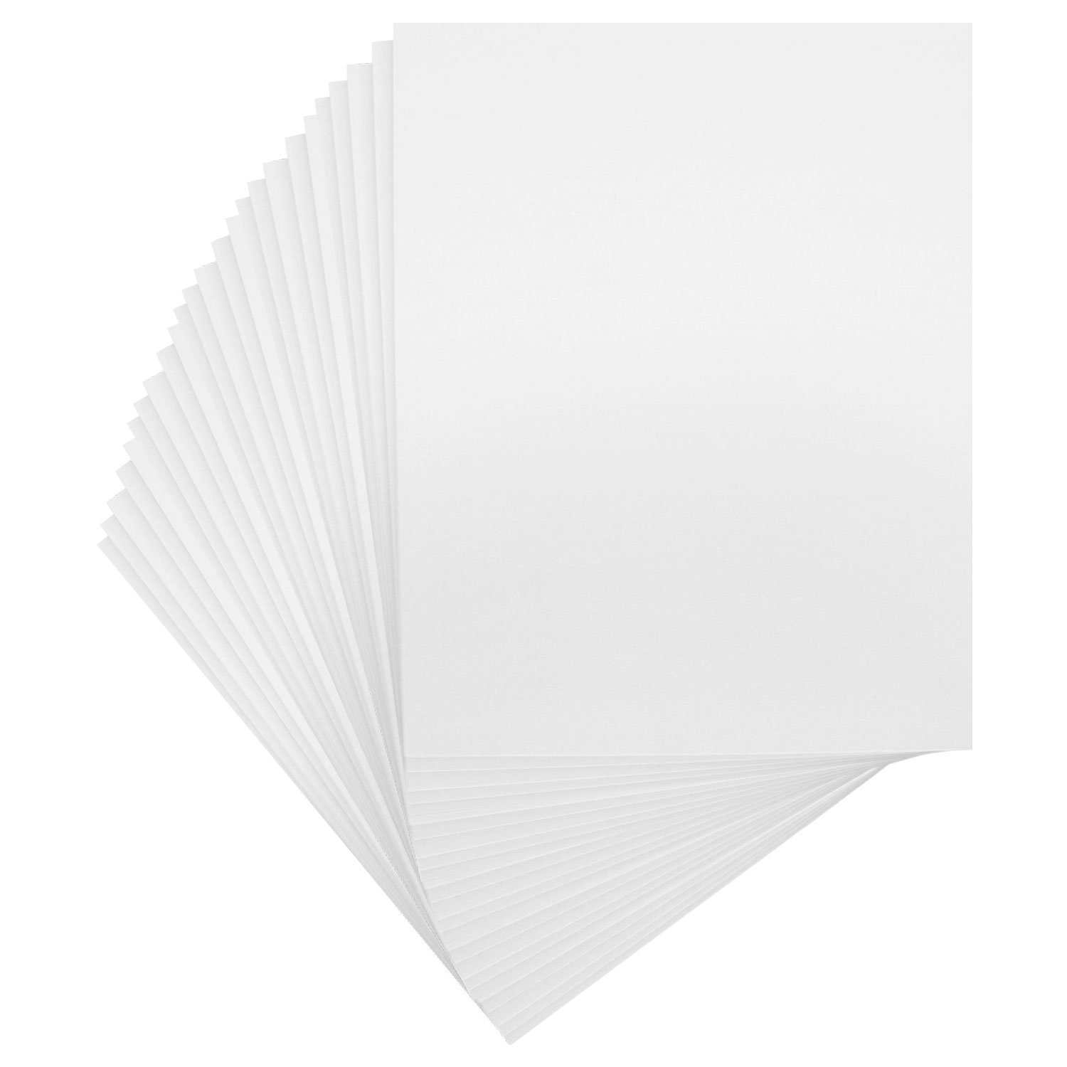 US Art Supply Art Mats Acid-Free Pre-Cut 16x20 Black Picture Mat Matte Sets. Includes a Pack of 25 White Core Bevel Cut Mattes for 11x14 Photos, Pack of 25 Backers & 25 Clear Sleeve Bags by US Art Supply (Image #3)